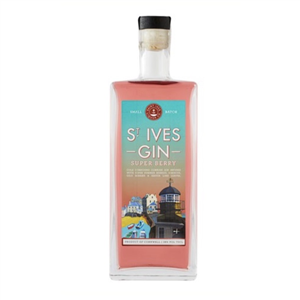 St Ives Gin Super Berry 70cl (38%)