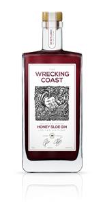 Wrecking Coast Honey Sloe Gin 50cl (34.5%)